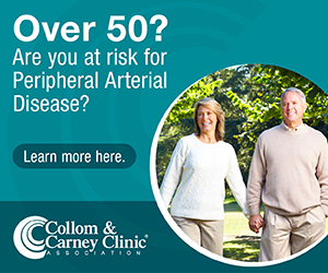 Over 50? Are you at risk for Peripheral Arterial Disease?